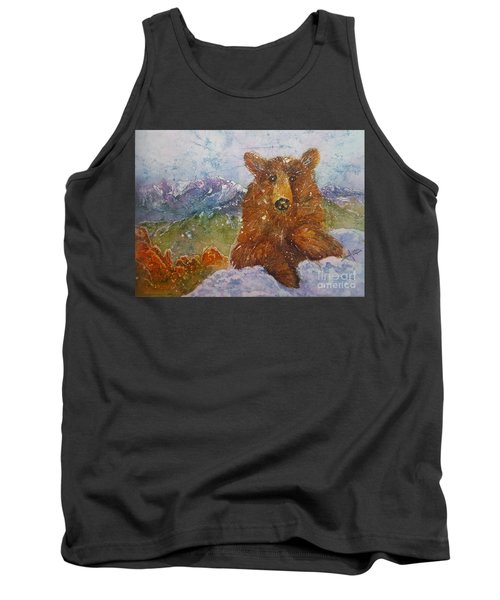 Teddy Wakes Up In The Most Desireable City In The Nation Tank Top