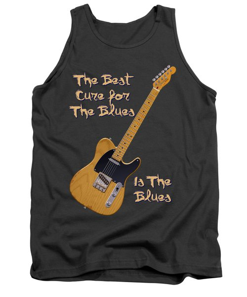 Tele Blues Cure Tank Top by WB Johnston