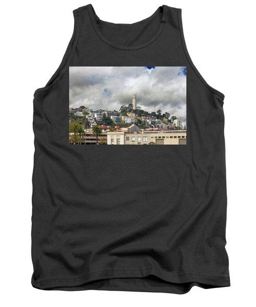 Telegraph Hill Neighborhood Homes In San Francisco Tank Top