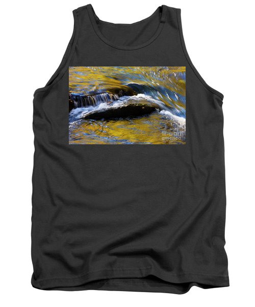 Tank Top featuring the photograph Tellico River - D010004 by Daniel Dempster