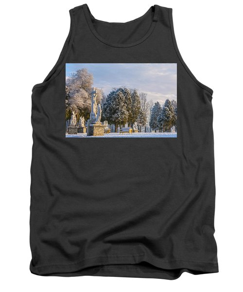 Ten Stations Of The Cross Christmas Morning Tank Top