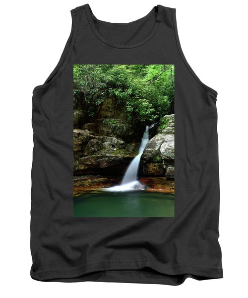 Tennessee's Blue Hole Falls Tank Top