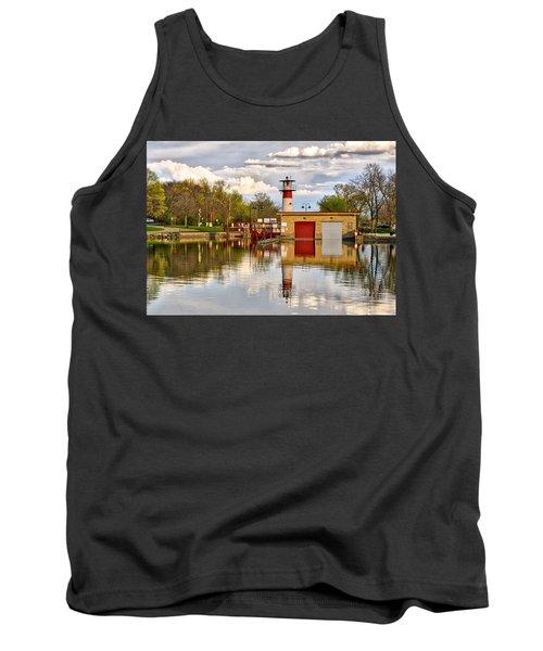 Tenney Lock - Madison - Wisconsin Tank Top
