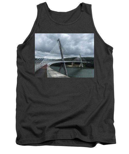 Terenez Bridge I Tank Top by Helen Northcott