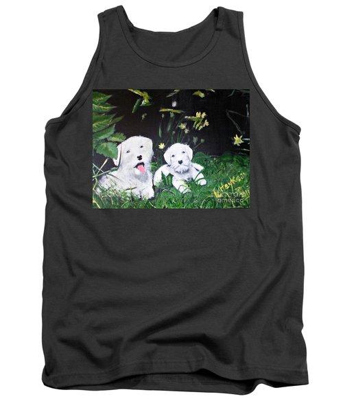 Terriers' Farm Pals. Tank Top by Francine Heykoop