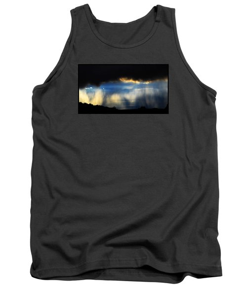 Tank Top featuring the photograph Tesuque Weather Vistas by Susanne Still