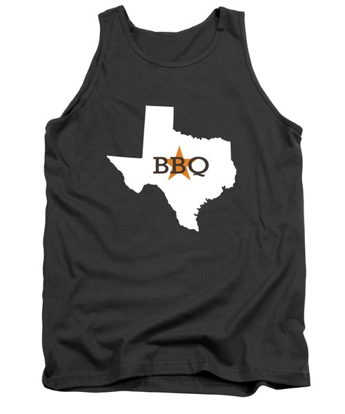 Texas Bbq Tank Top by Nancy Ingersoll