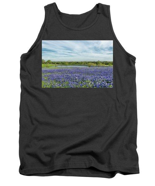 Texas Bluebonnets 13 Tank Top