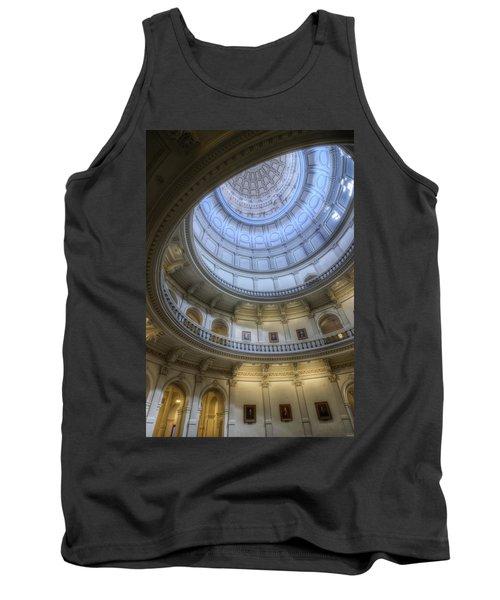 Texas Capitol Dome Interior Tank Top