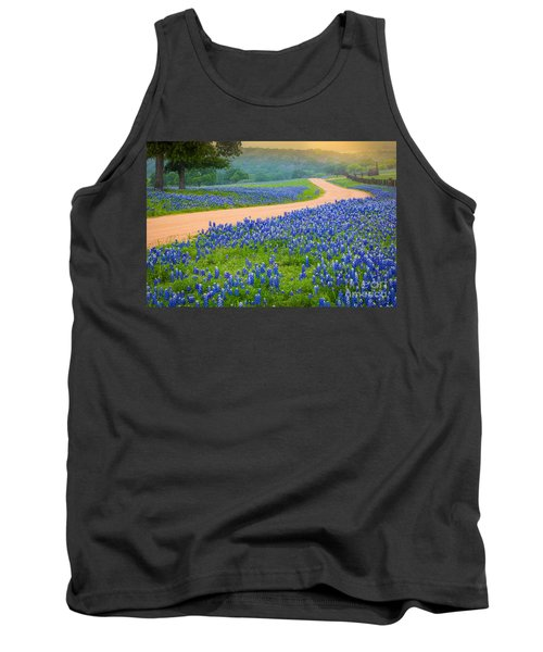 Texas Country Road Tank Top