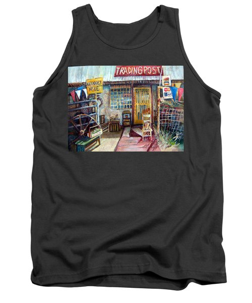 Texas Store Front Tank Top