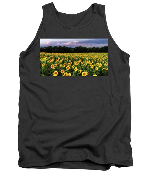 Texas Sunflowers Tank Top