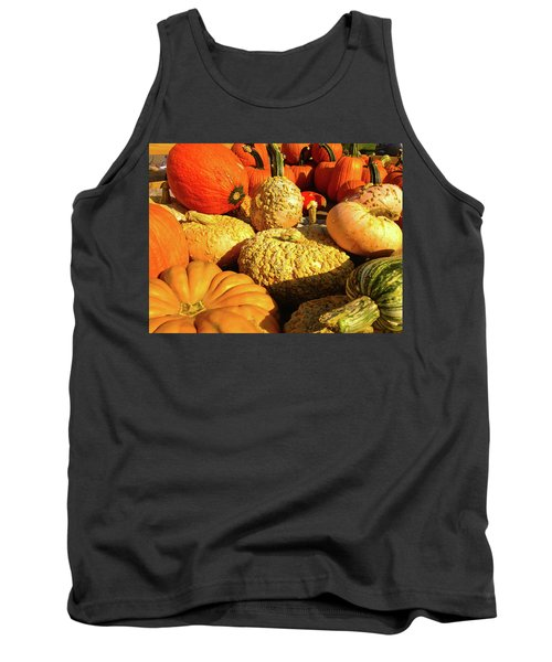 Textures Of Fall Tank Top by Rod Seel