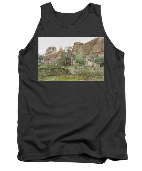 Thatched Cottages And Cottage Gardens Tank Top