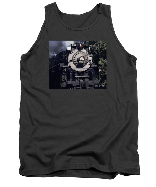 Tank Top featuring the photograph The 765 by Jim Lepard