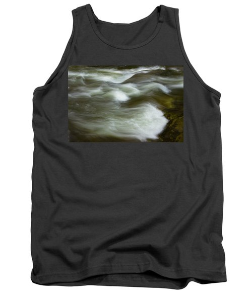 Tank Top featuring the photograph The Action On Top by Mike Eingle