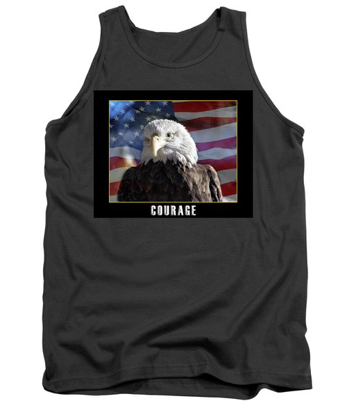 The American Bald Eagle Tank Top