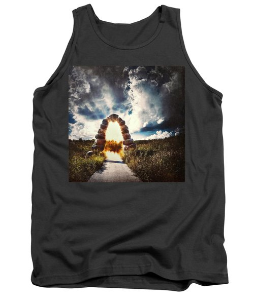 The Arch On The Edge Of Forever Tank Top