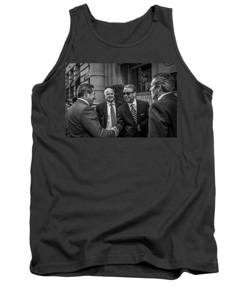 The Art Of The Deal Tank Top by David Sutton