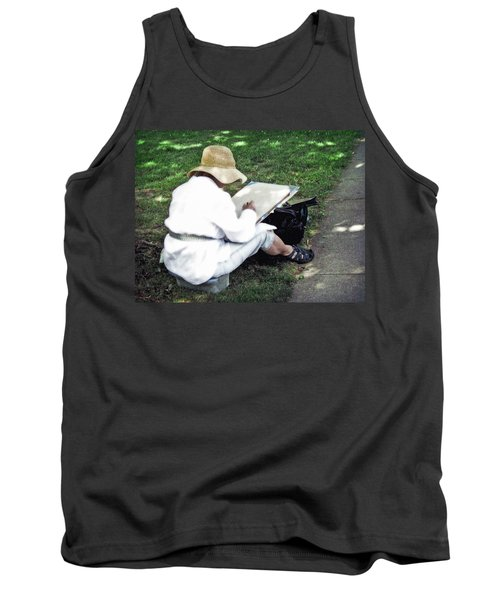 The Artist Tank Top by Keith Armstrong