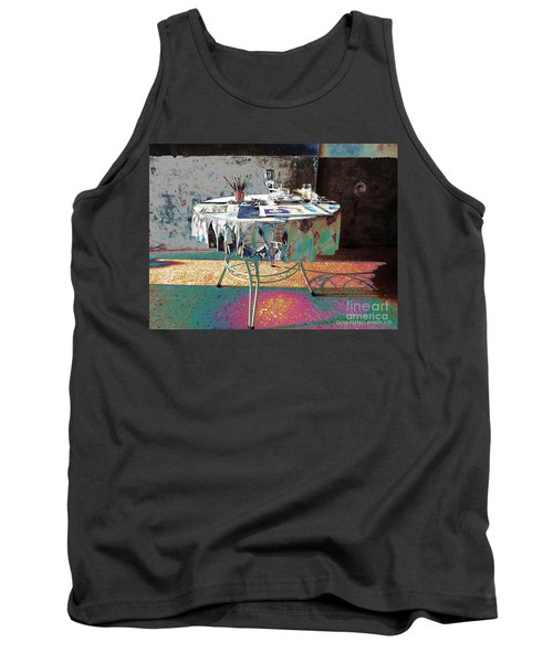 The Artists Table Tank Top by Don Pedro De Gracia