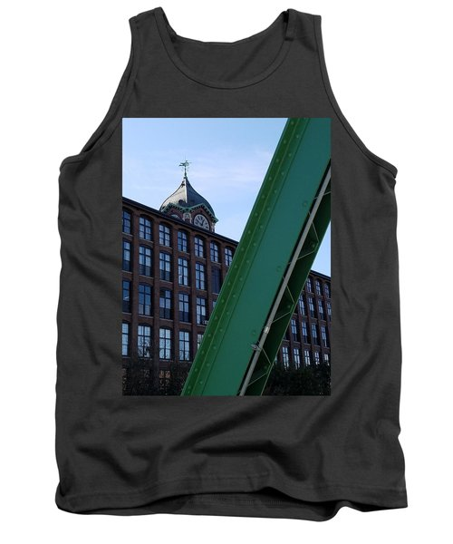 The Ayer Mill And Clock Tower Tank Top