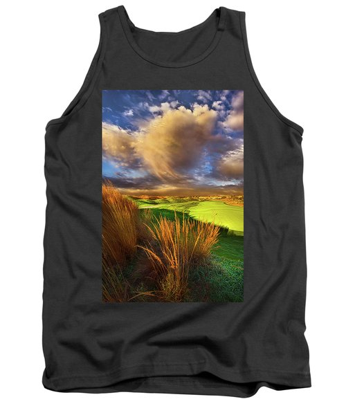 The Back Nine Tank Top by Phil Koch