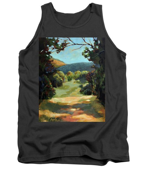 The Backroads - Original Oil On Canvas Summer Landscape  Tank Top