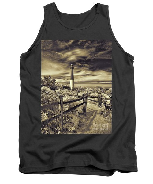 The Barnegat Lighthouse New Jersey Tank Top