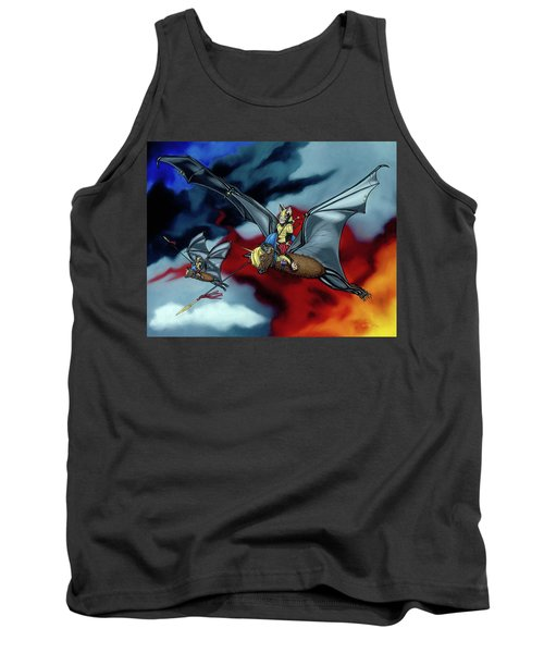 The Bat Riders Tank Top
