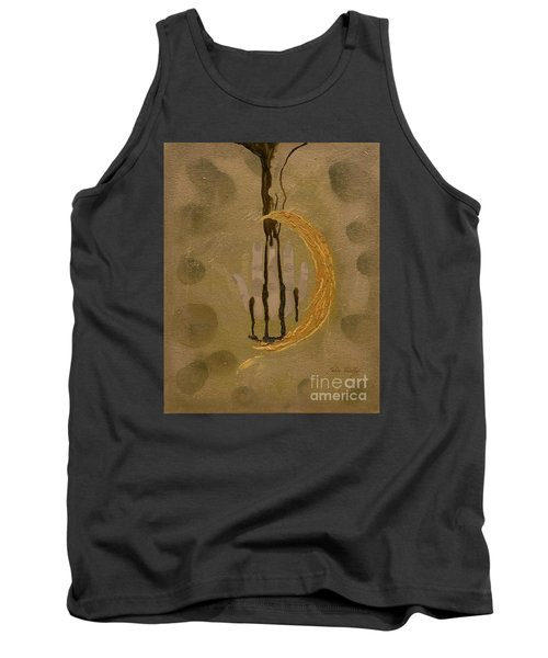 The Battle Of Religons And Wars 4 Liquid Gold Tank Top by Talisa Hartley