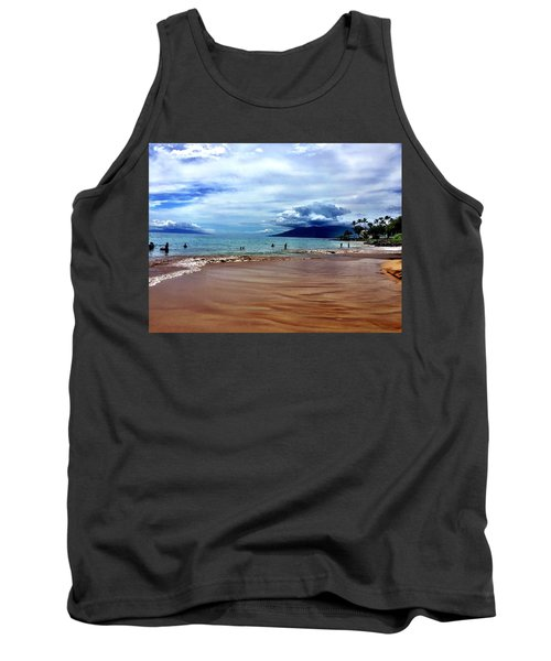 The Beach Tank Top by Michael Albright