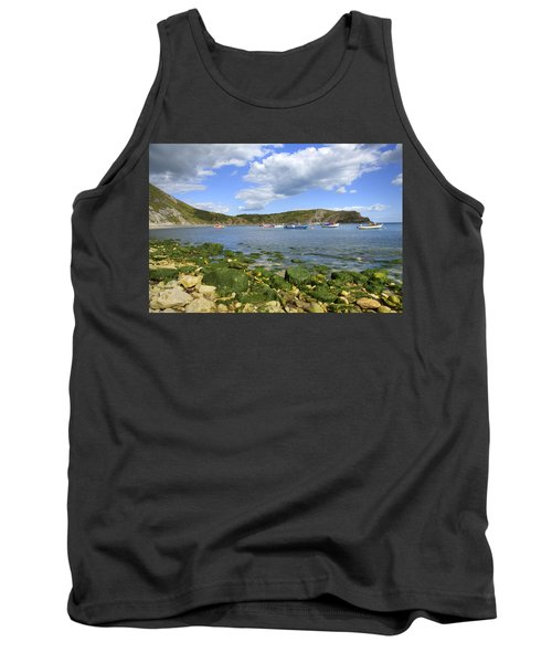 Tank Top featuring the photograph The Beauty Of Lulworth Cove by Ian Middleton