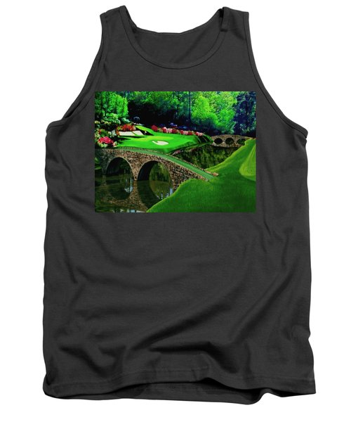 The Beauty Of The Masters Cropped Version Tank Top