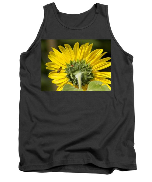 The Bee Lady Bug And Sunflower Tank Top