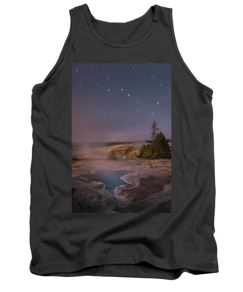 The Big Dipper In Yellowstone National Park Tank Top