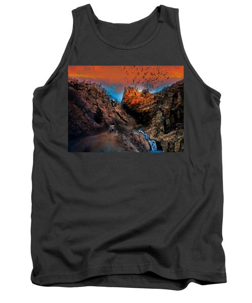 The Birds Of Window Rock Tank Top by J Griff Griffin