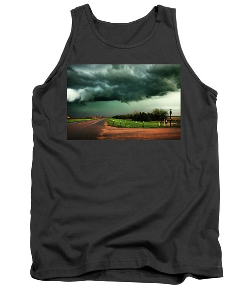 The Birth Of A Funnel Cloud Tank Top