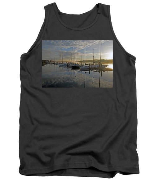 The Blue And Beyond Tank Top by Suzy Piatt