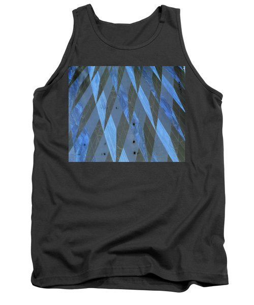 The Blue Dimension Tank Top