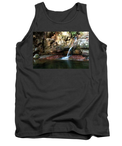 The Blue Hole In November #2 Tank Top by Jeff Severson