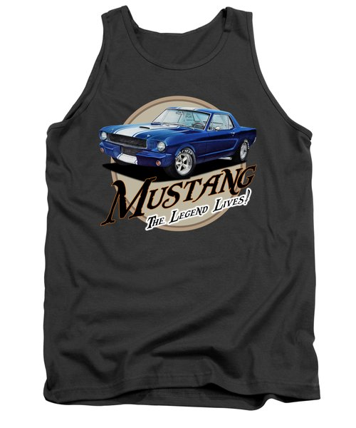 The Blue Legend Tank Top
