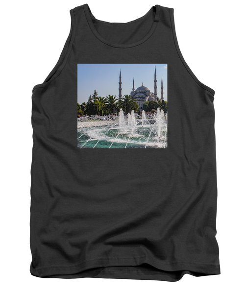 The Blue Mosque Istanbul Tank Top