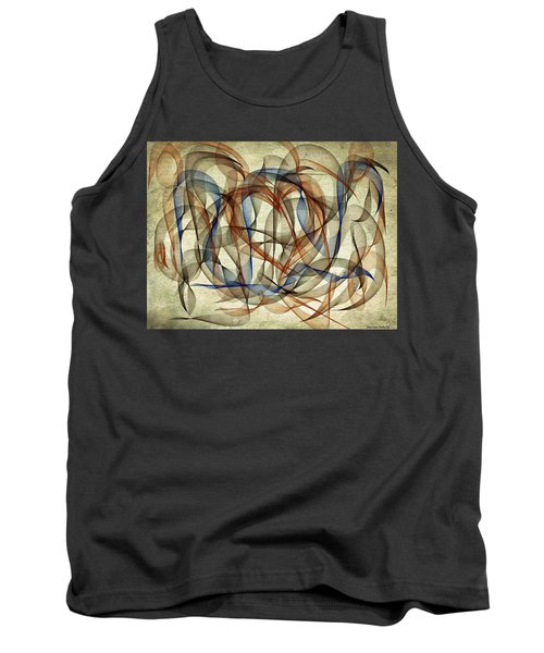 The Blues Abstract Tank Top