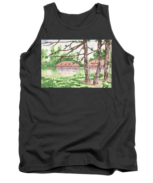 The Boathouse At Forest Park Tank Top