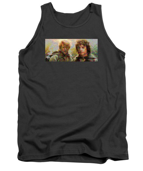 Tank Top featuring the photograph The Bonds Of Friendship by Mario Carini