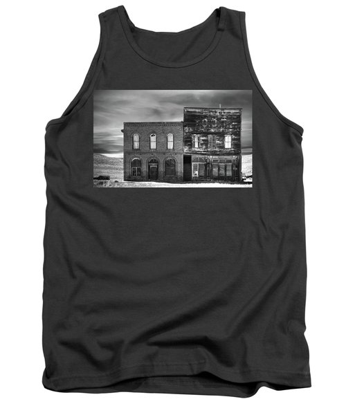 The Boot Building Tank Top by Marius Sipa