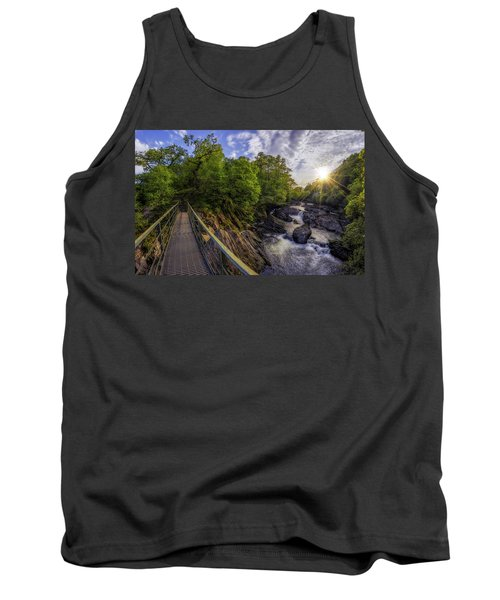 The Bridge To Summer Tank Top by Ian Mitchell