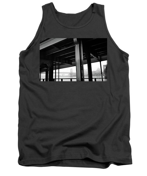 The Brooklyng Bridge And Manhattan Bridge From Fdr Drive Tank Top