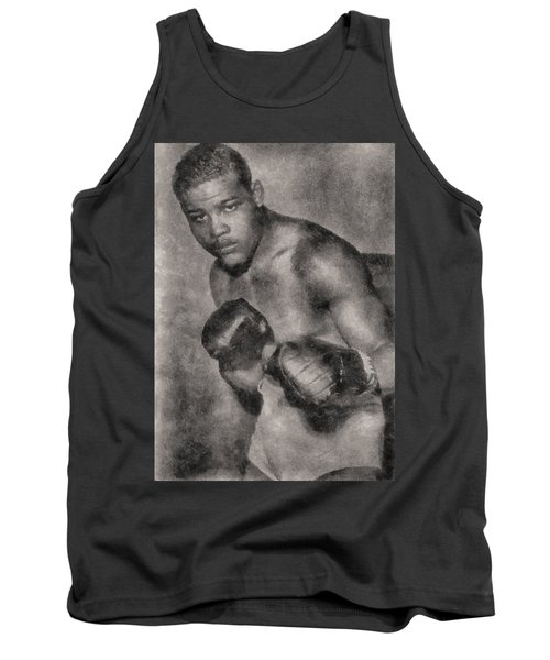 Tank Top featuring the photograph The Brown Bomber by Joseph Hollingsworth
